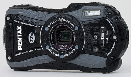 Pentax Optio WG-1 wet
